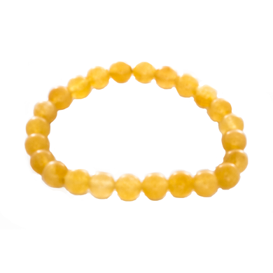 Citrine Mala Stretch Bracelet. Good Feng Shui - Sandra Jeffs