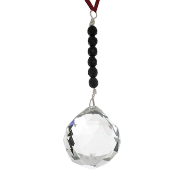 Hanging Crystal - Feng Shui - Career Area - 40mm - Sandra Jeffs