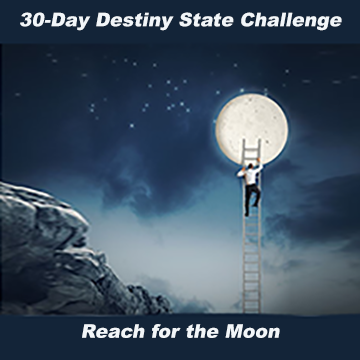 30-Day Destiny State  Challenge Sept 26-Oct 24, 2018 - Sandra Jeffs