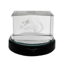 Crystal Dragon Cube for Feng Shui Missing Gua Alignment - Sandra Jeffs