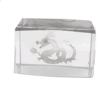 Crystal Dragon Cube for Feng Shui Missing Gua Cure - Sandra Jeffs
