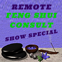 Feng Shui Romote Consultation - Show Special Price  - 1 hour - Sandra Jeffs