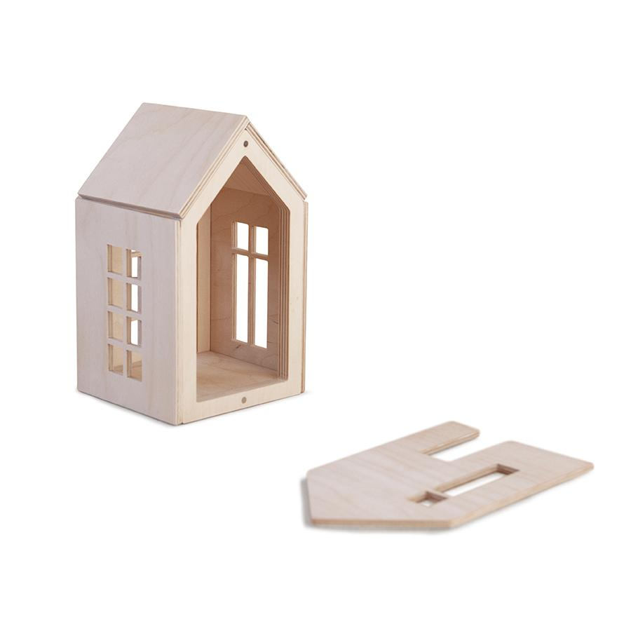 "Puppenhaus ""Dollhouse on Magnets Natural"" M"