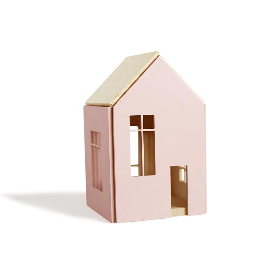 "Puppenhaus ""Dollhouse on Magnets Pink"" L"