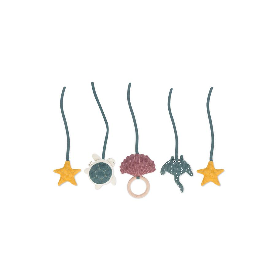"Spielbogen-Mobiles ""Sammy the Starfish"" 5er Set"