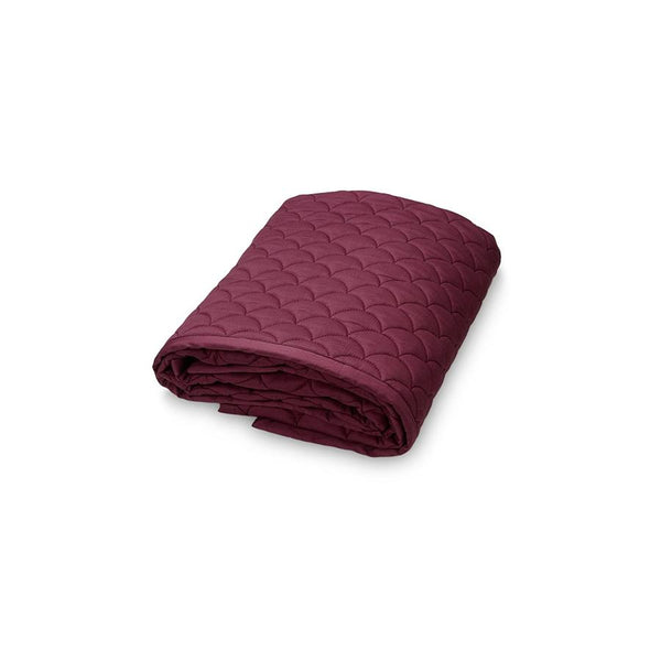 "Babydecke ""Wave Bordeaux"""