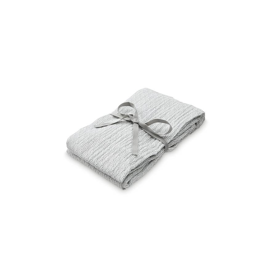 "Mulltuch ""Swaddle Light Grey Wave Medium"""
