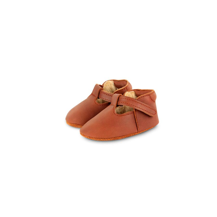 "Babyschuhe ""Elia Lining Cognac Classic Leather"""