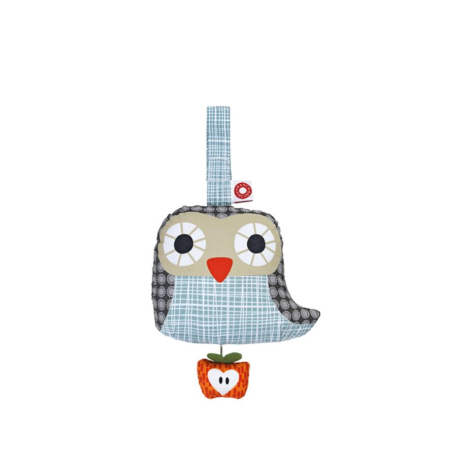 "Baby-Mobile ""Else Owl Grey"" mit Musik"
