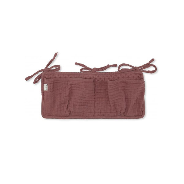 "Betttasche ""Muslin Cedar Wood"""