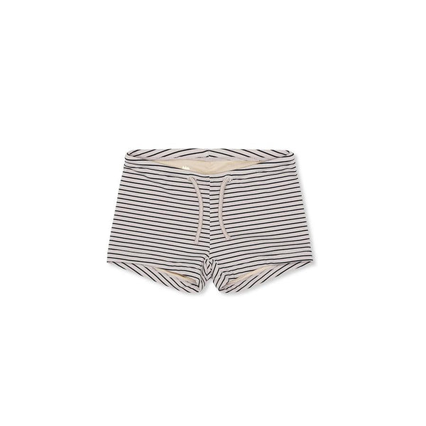 "Baby-Badehose ""Soleil Striped Navy / Nature"""