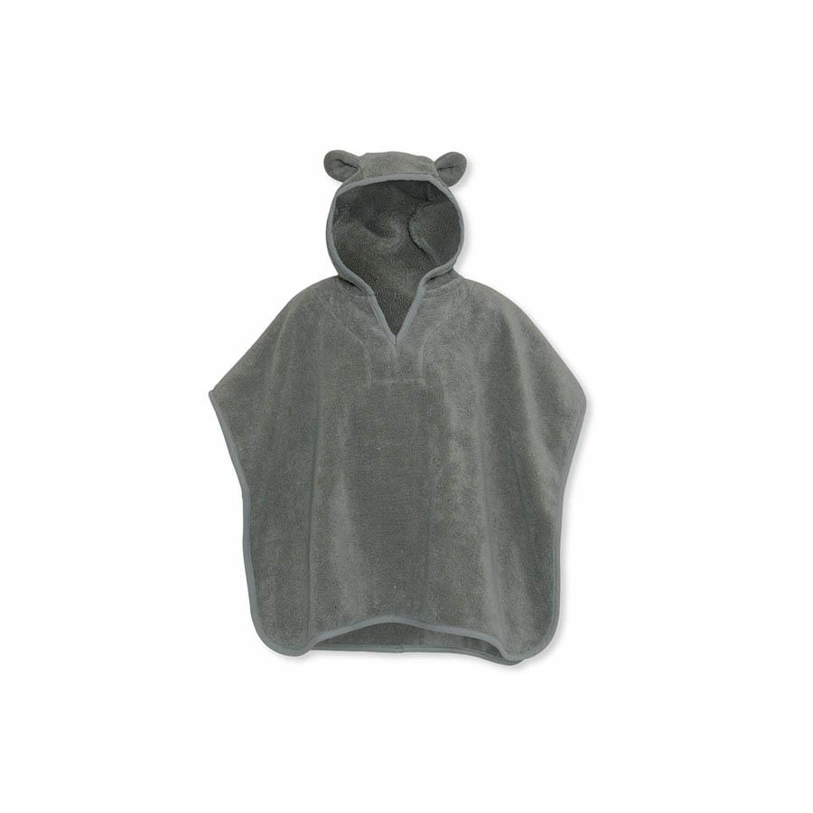 "Badeponcho ""Storm Grey"""