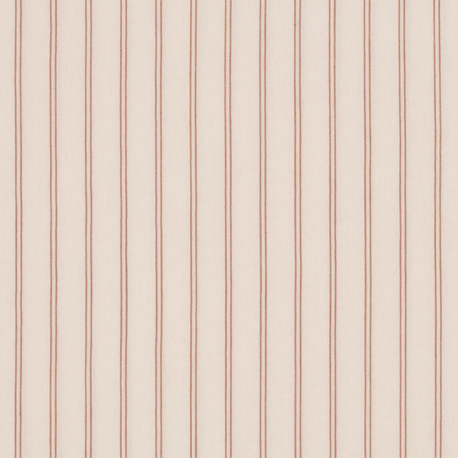 "Bettwäsche ""Extra Bedding Adult Stripes Strand Havet Whisper Pink / Brick Red"""