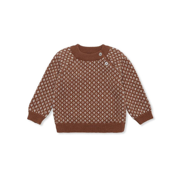 "Strickpullover ""Meomi Folk Knit Toffee"""