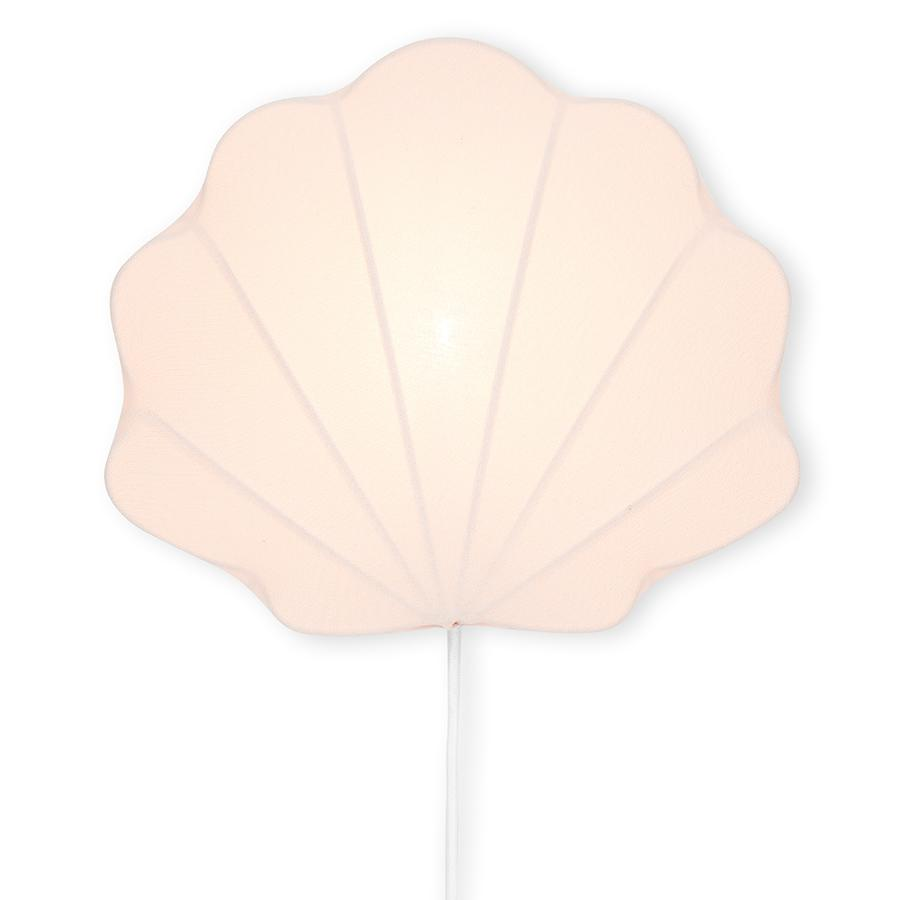 "Wandlampe ""Clam Blush"""