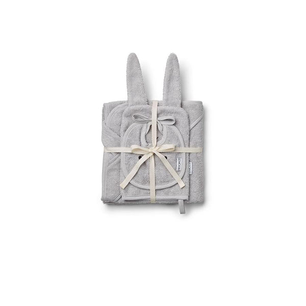 "Baby-Frottee-Set  ""Adele Rabbit Dumbo Grey"""