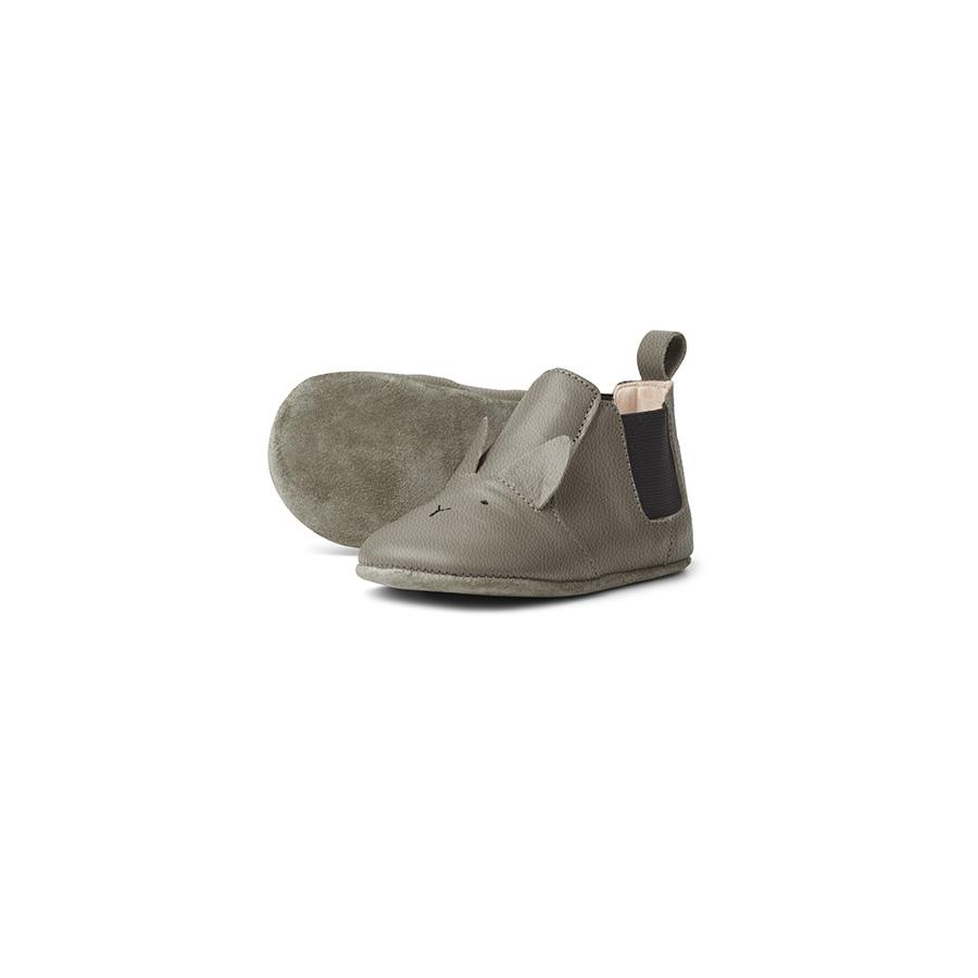 "Babyschuhe ""Edith Rabbit Grey"""