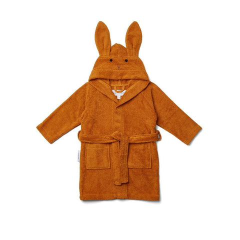 "Bademantel ""Lily Rabbit Mustard"""