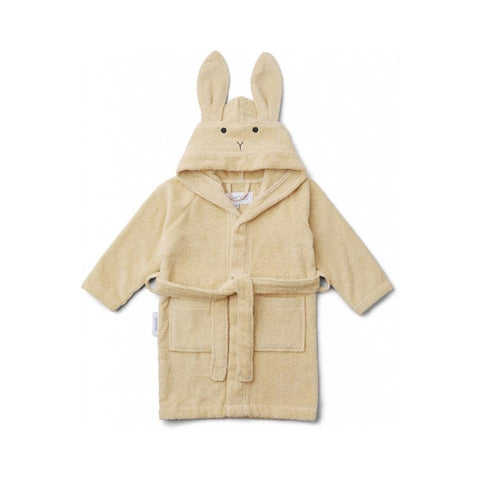 "Bademantel ""Lily Rabbit Smoothie Yellow"""