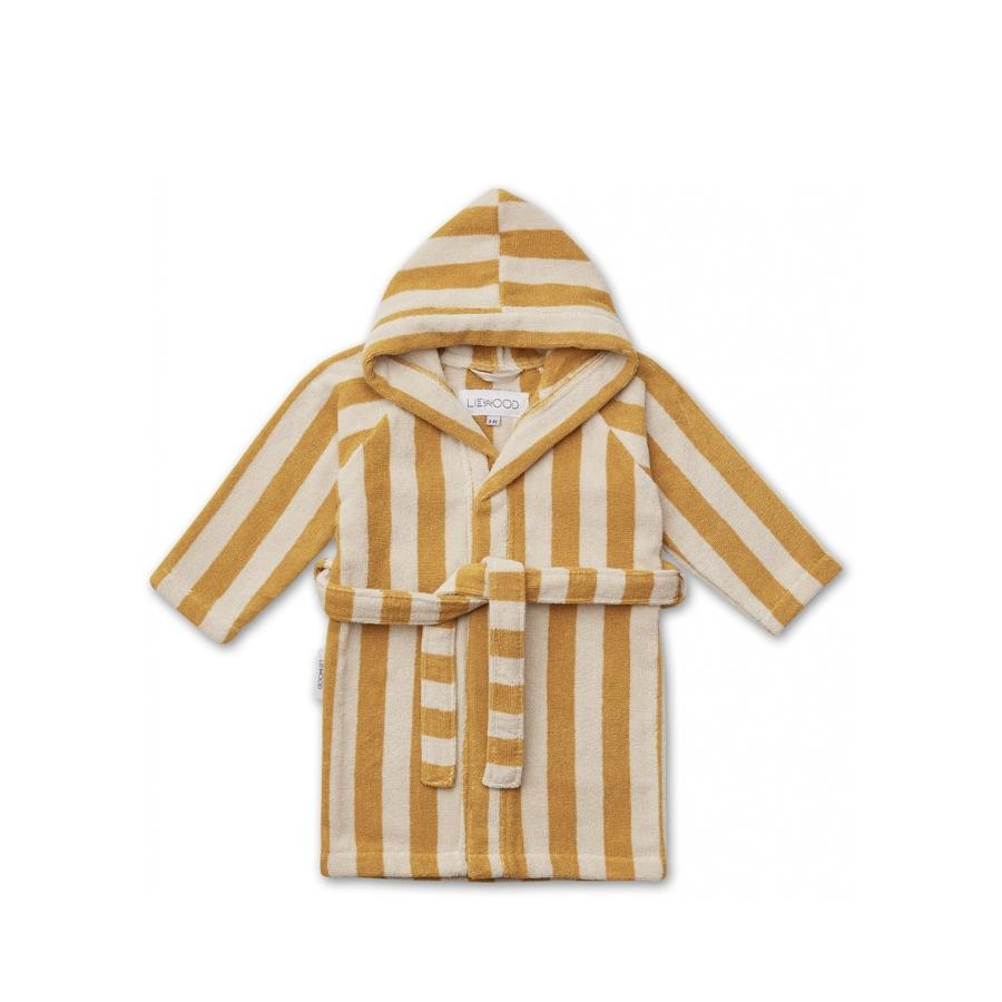 "Bademantel ""Reggie Stripe Yellow Mellow / Sandy"""