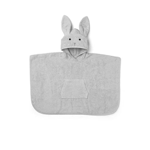 "Handtuch-Poncho ""Orla Rabbit Dumbo Grey"""