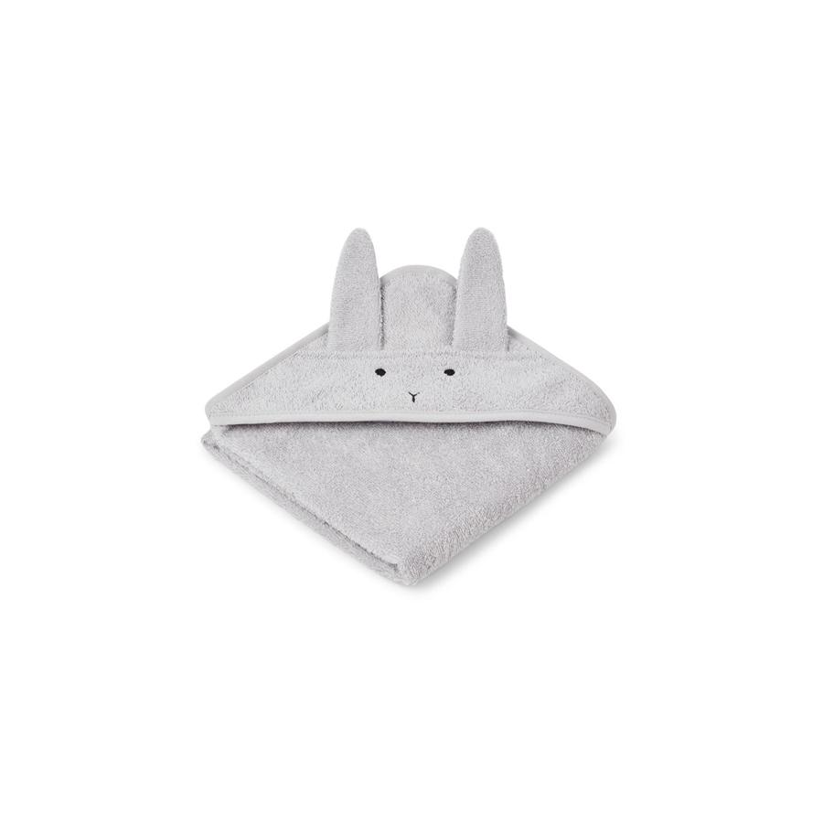 "Kapuzenhandtuch ""Albert Rabbit Dumbo Grey"""