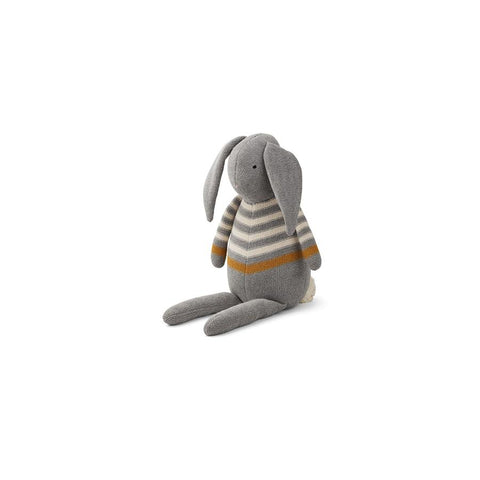 "Strickpuppe ""Dextor Rabbit Grey Melange"""
