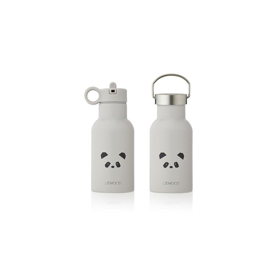 "Trinkflasche ""Anker Panda Light Grey"""