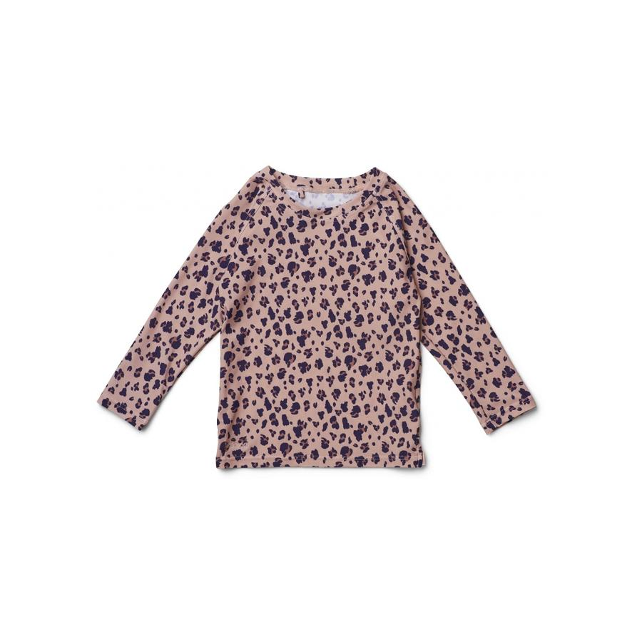 "UV-Badeshirt ""Noah Mini Leo / Coral Blush"""