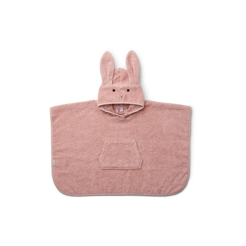 "Handtuch-Poncho ""Orla Rabbit Rose"""