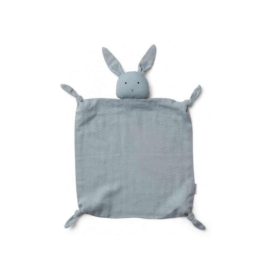 "Schmusetuch ""Agnete Rabbit Sea Blue"""