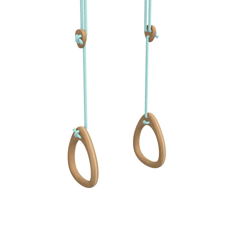 "Turnringe ""Oak Mint Ropes"""
