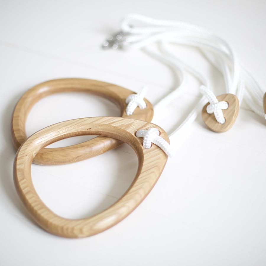 "Turnringe ""Oak White Ropes"""