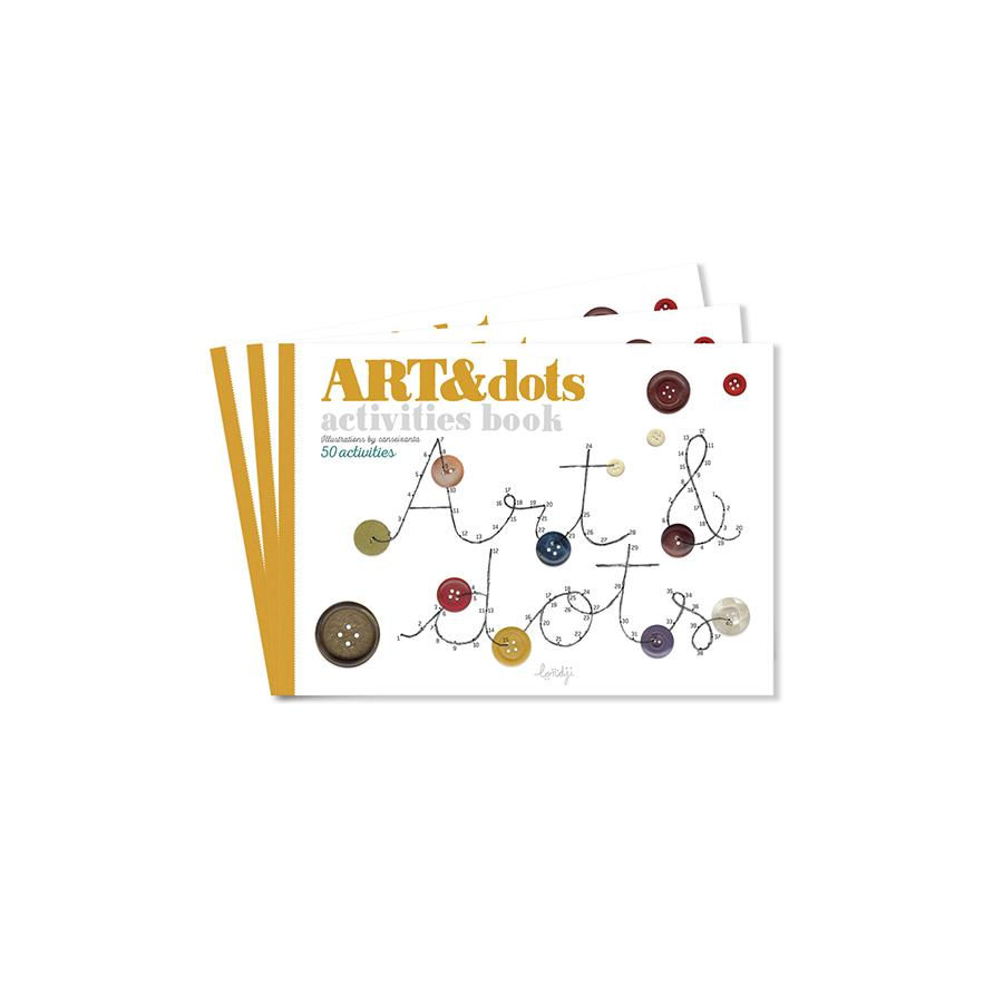 "Malbuch ""Art & Dots"""