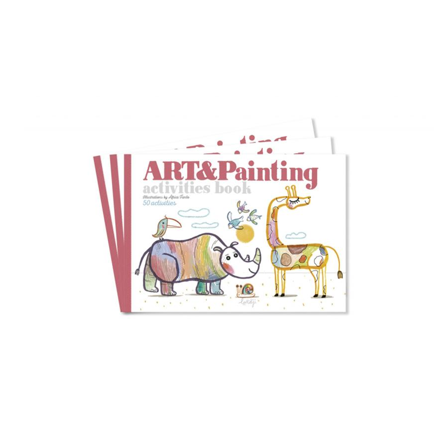 "Malbuch ""Art & Painting"""