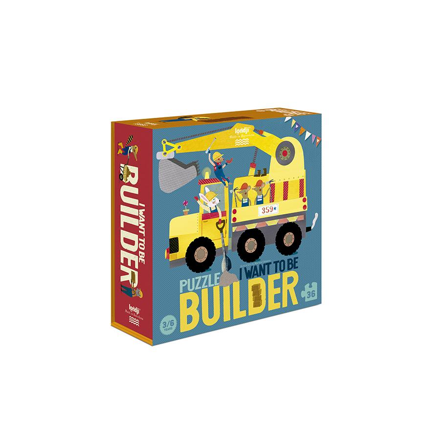 "Puzzle ""I Want to be ... Builder"""