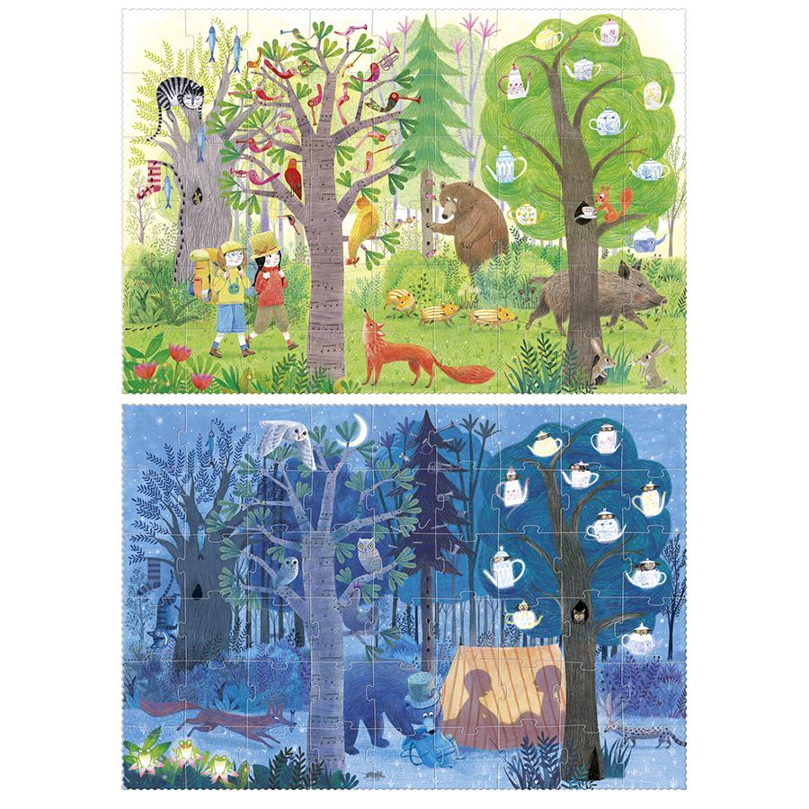 "Puzzle ""Night & Day"""