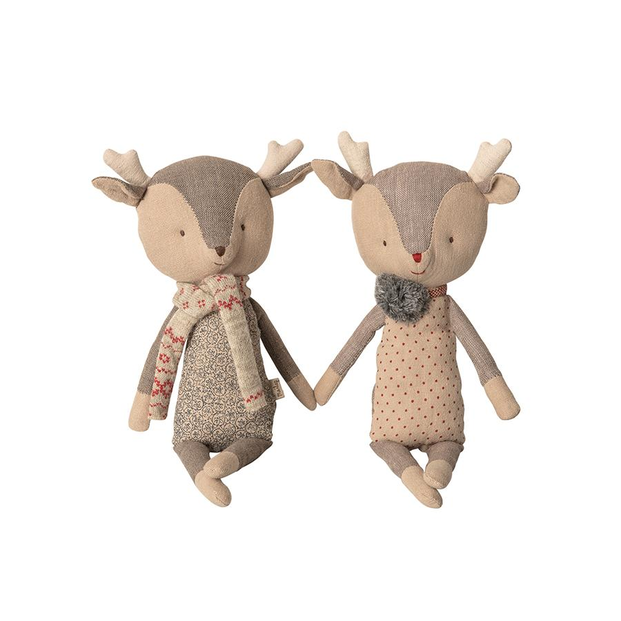 "Stoffpuppe ""Winter Friends Reindeer Girl"""