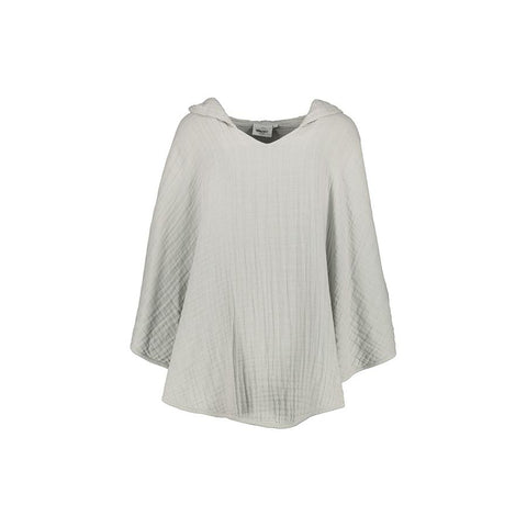 "Handtuch-Poncho ""Pancho Almond"" aus Musselinstoff"