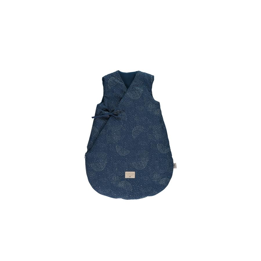 "Babyschlafsack ""Cloud Gold Bubble / Night Blue"""