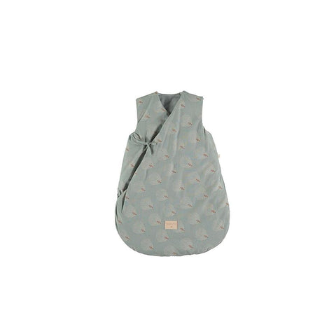 "Babyschlafsack ""Cloud White Gatsby / Antique Green"""