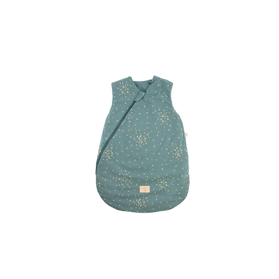 "Babyschlafsack ""Cocoon Gold Confetti / Magic Green"""