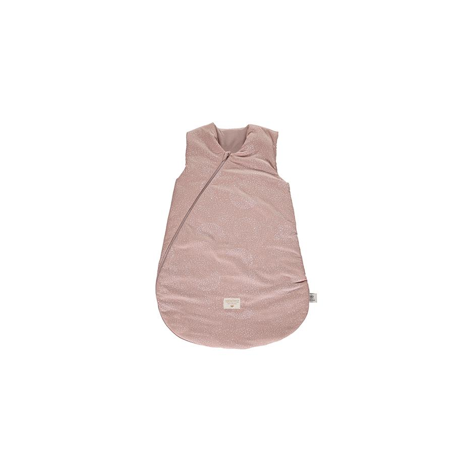 "Babyschlafsack ""Cocoon White Bubble / Misty Pink"""