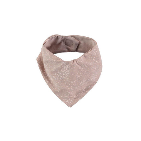 "Bandana-Lätzchen ""Lucky White Bubble Misty Pink"""