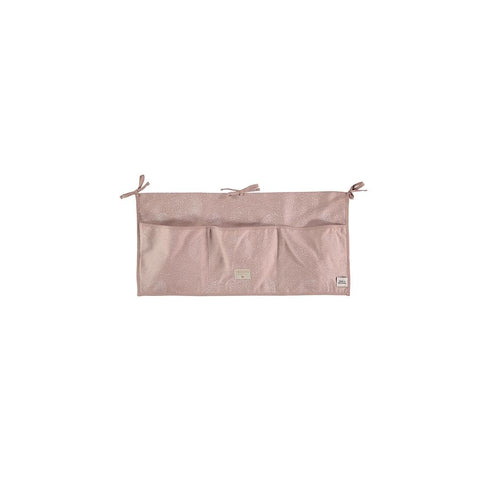 "Betttasche ""Merlin White Bubble / Misty Pink"""