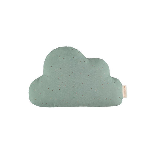 "Kissen ""Cloud Toffee Sweet Dots / Eden Green"""