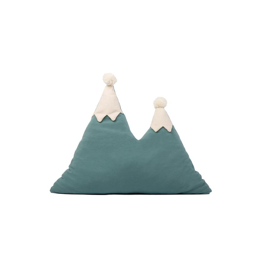 "Kissen ""Snowy Mountain Magic Green"""