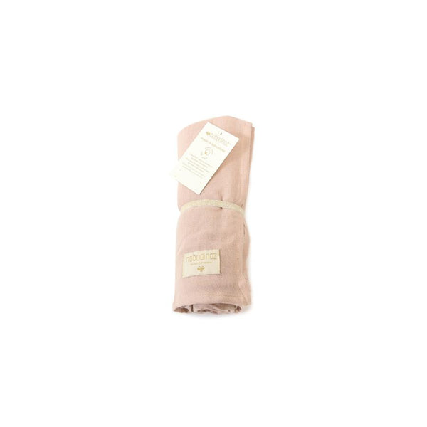 "Mulltuch Swaddle ""Butterfly / Bloom Pink"""