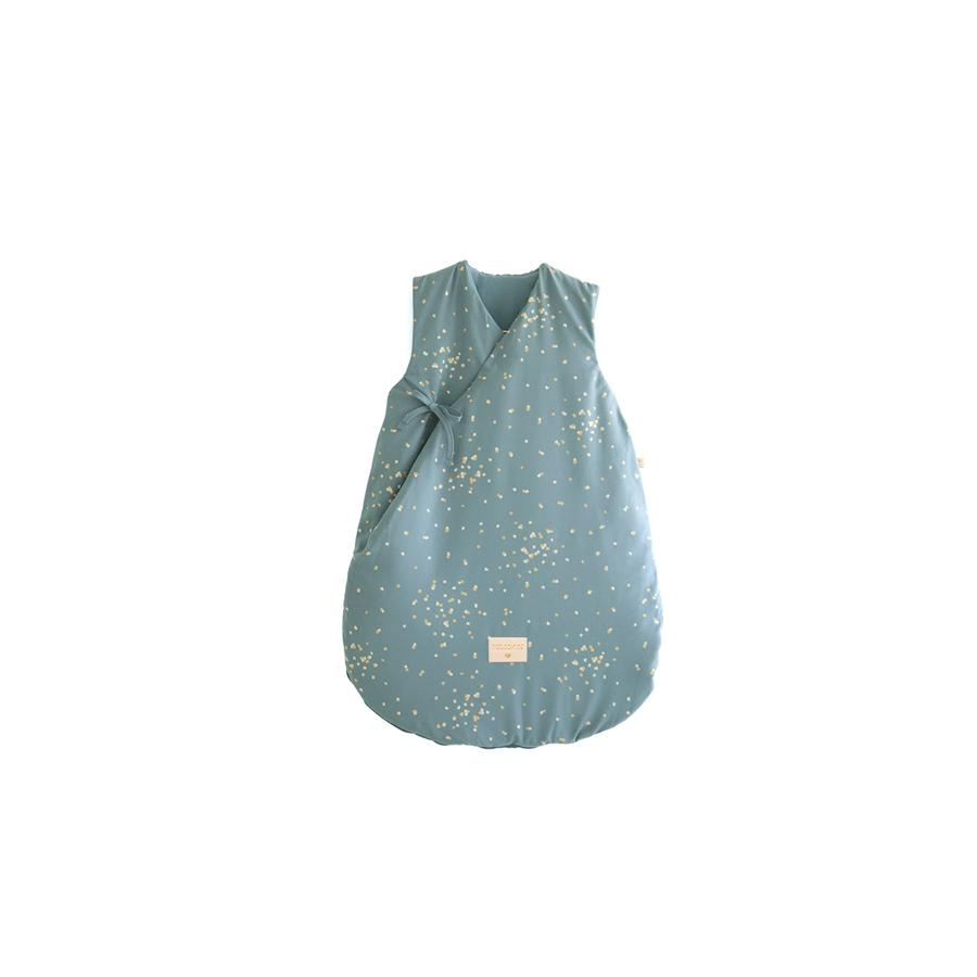 "Babyschlafsack ""Cloud Gold Confetti / Magic Green"""