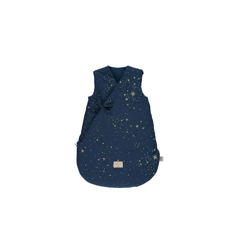 "Schlafsack ""Cloud Gold Stella / Night Blue"""